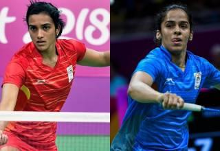 2018 Commonwealth Games news :Badminton singles player Saina Nehwal beats PV Sindhu to win gold; Kidambi Srikanth settles for silver.