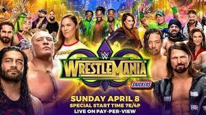 Wwe wrestlemania 2018 live update: brock lesnar vs roman reigns :WWE WrestleMania 34 matches, card, rumors, date, 2018 location, predictions