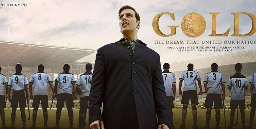 Gold movie trailer has Akshay Kumar leading a team of hockey players pre-independence era makes gold medal for India