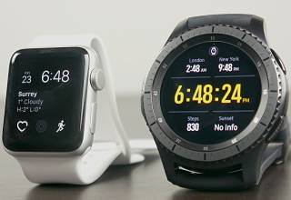Apple Watch Series 3 VS Samsung Gear S3 Frontier