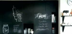 Creativity with Chalkboard Wall