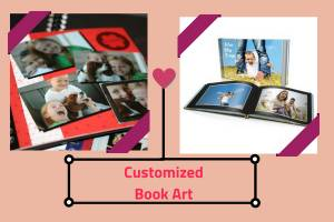 Cust omized Book Art