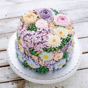 Designer Floral Cakes