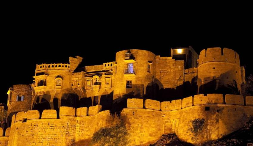 Jaisalmer-Fort-at-Night (1)