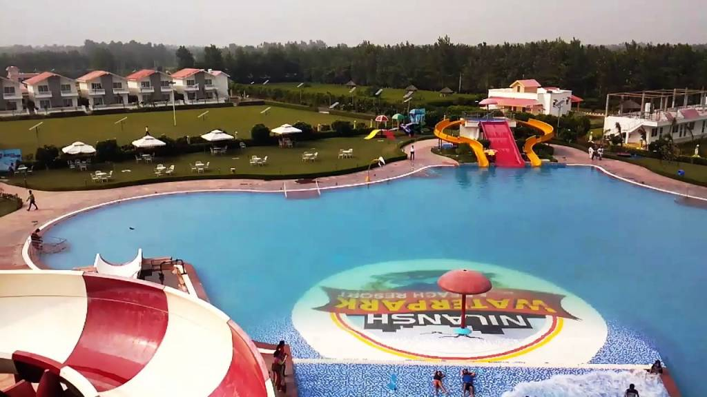 Visit the theme-based water parks