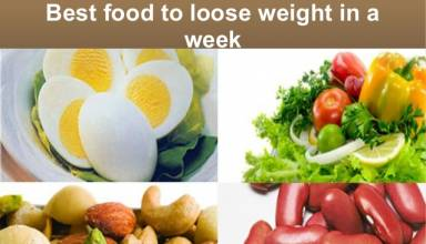 6 Natural Foods for weight loss