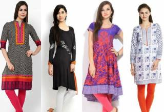 ladies kurti fashion
