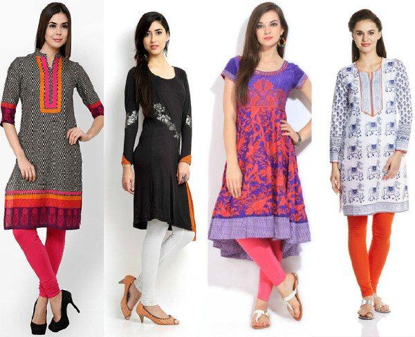 ladies kurti fashion
