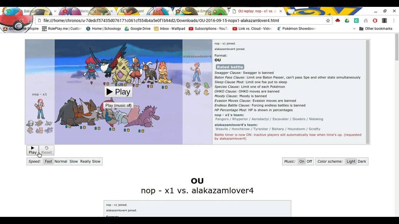 Pokémon Showdown