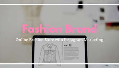 Fashion brand marketing