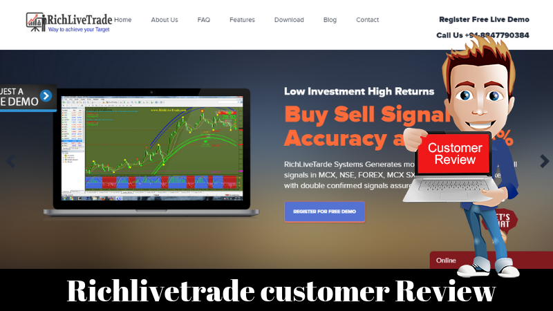 Richlivetrade Buy Sell Signal Software