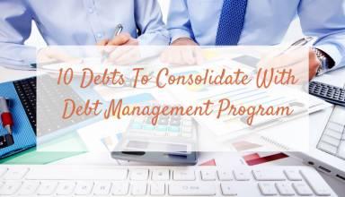 debt consolidation program