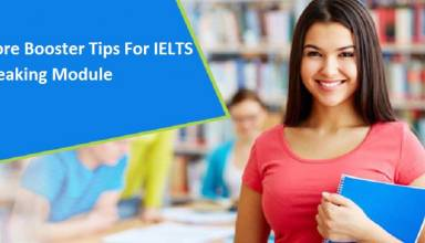 Score Booster Tips For IELTS Speaking Module