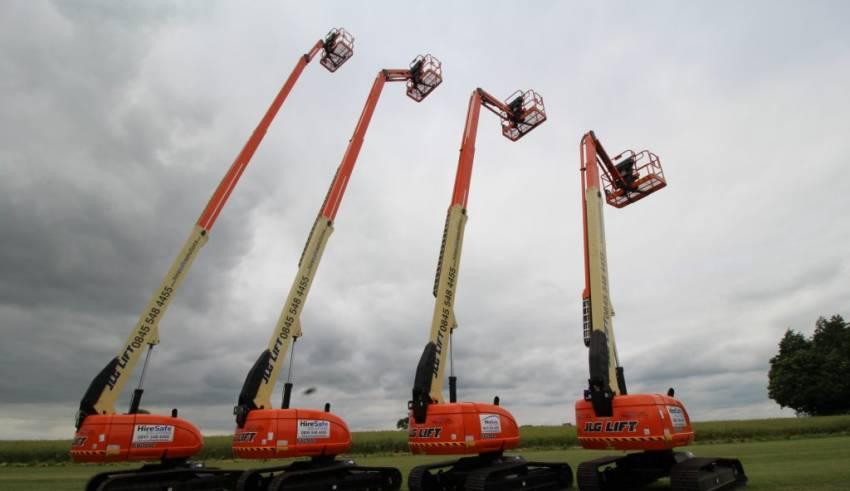 Crawler Boom Lift