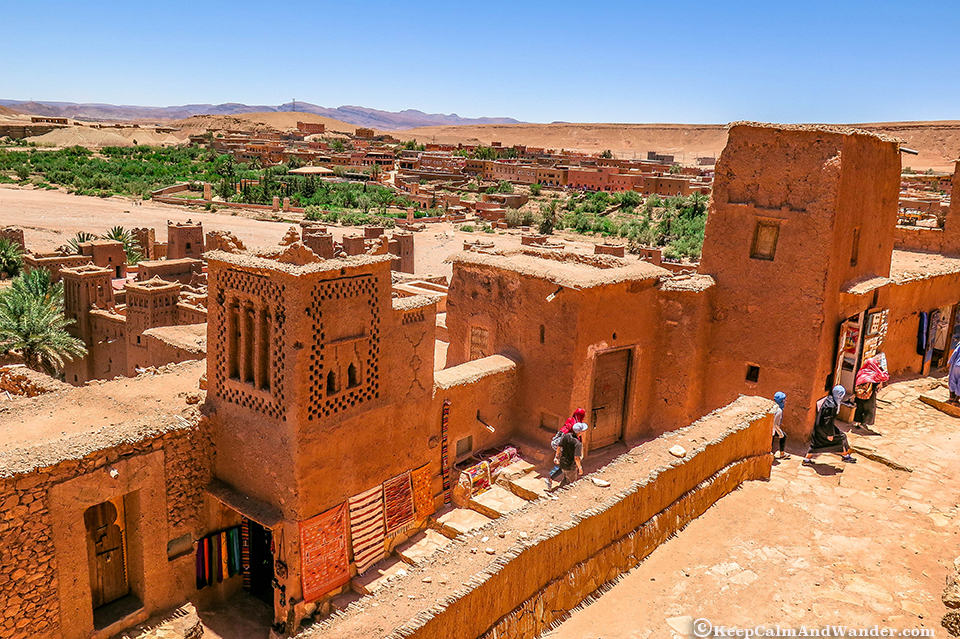 Wander At Ait Benhaddou:
