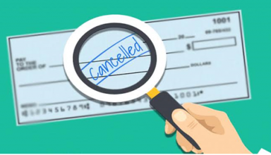 Uses of cancelled cheque