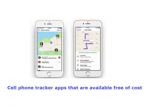 Cell phone tracker apps