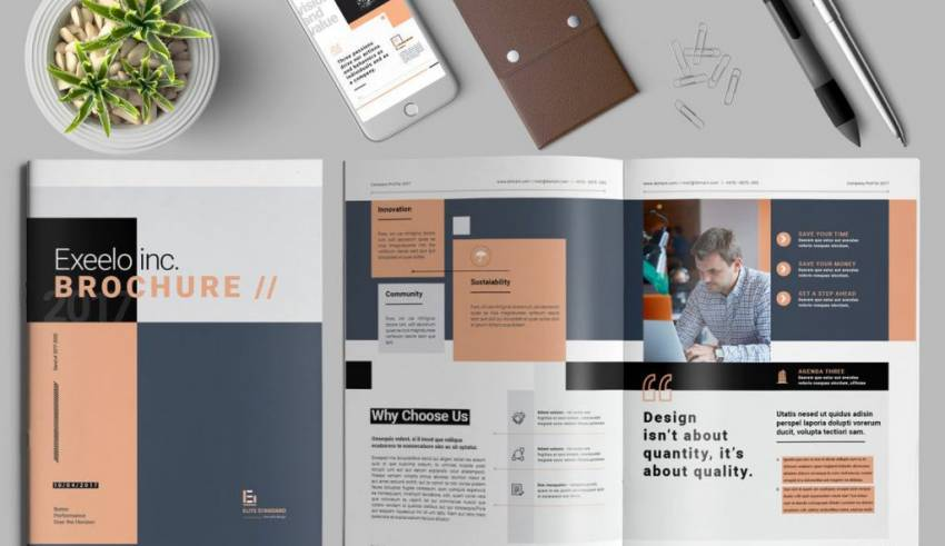How To Design Stunning Brochure;  4 Useful Tips