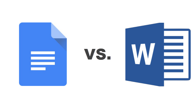 Google Docs VS Microsoft Word