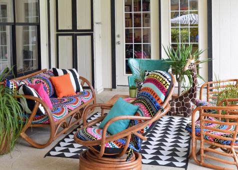 5 Great Ways To Use Outdoor Furniture Indoors