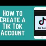 HOW TO CREATE TIKTOK ACCOUNT