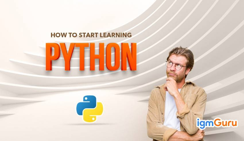 How should I start learning Python? training