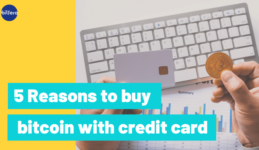 5 reasons it's smart to Buy Bitcoin with Credit Card
