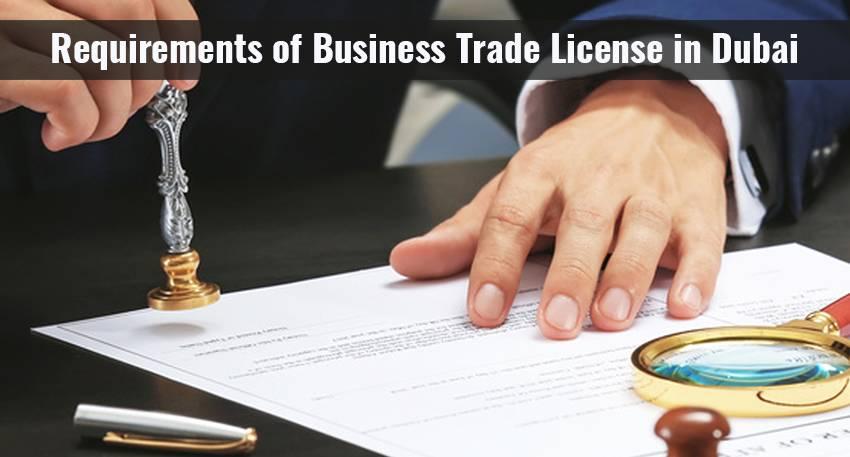 Trade permit in DUBAI