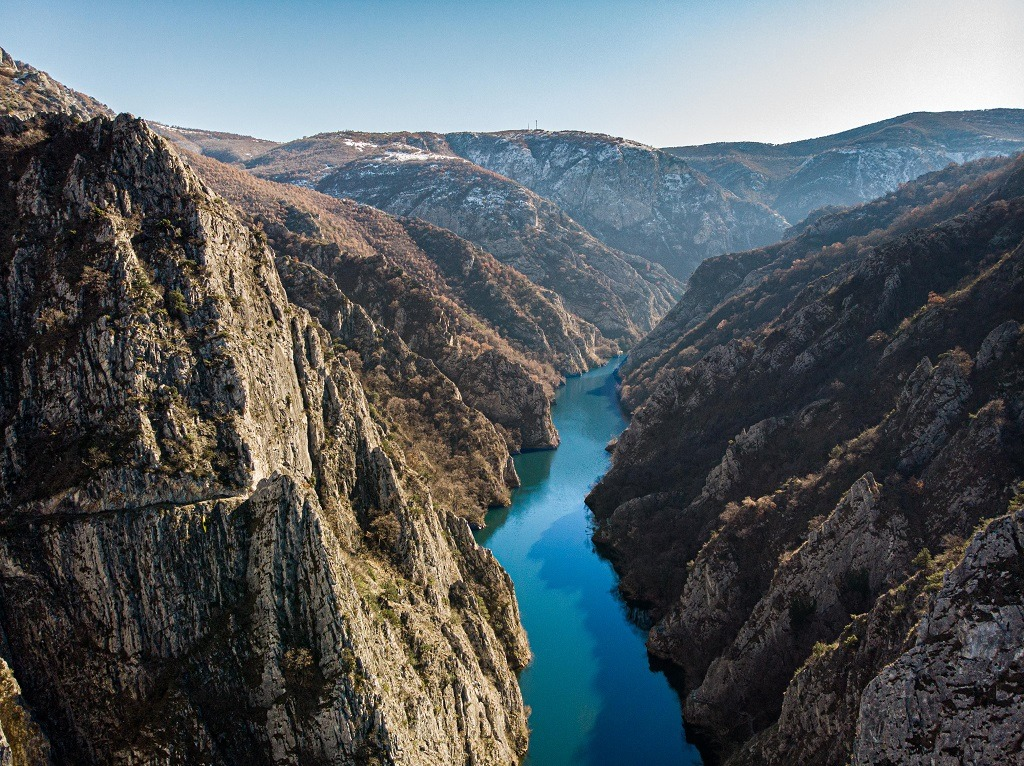 North Macedonia is a mountain country with extremely beautiful nature