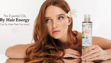 essential oils by hair energy