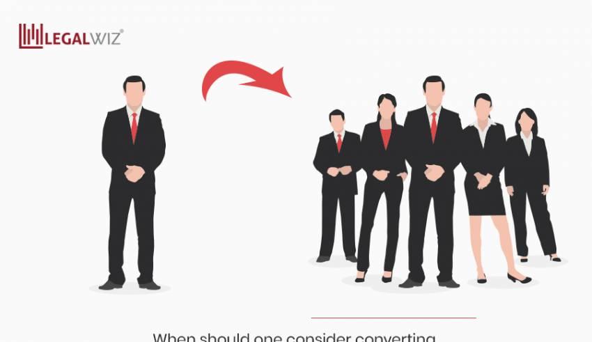 When-should-one-consider-converting-a-sole-proprietor-into-a-company
