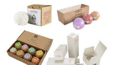 custom bath bomb packaging