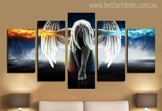 5 piece canvas art prints