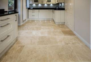 Travertine is the foremost option for stair treads