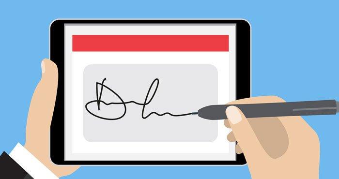 Signature Online – Points to Consider