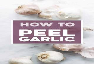 peel garlic