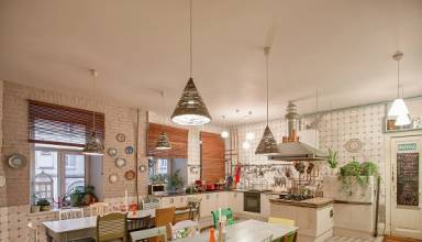 Top 6 layout of the Kitchen in St. Petersburg - Ani-Mebel Kitchen