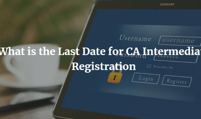 CA intermediate registration