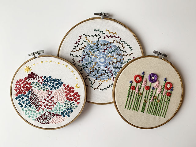 How to learn embroidery?