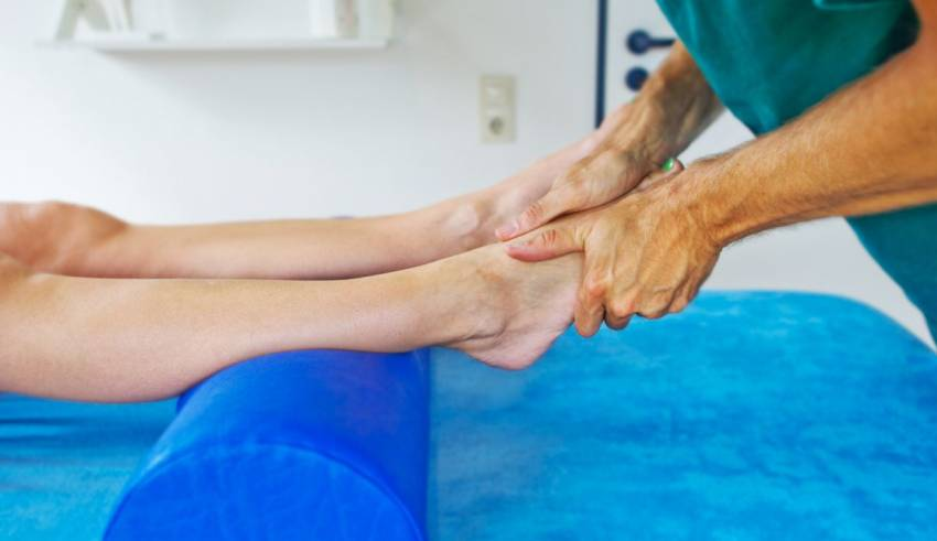 best physical therapy after a broken ankle
