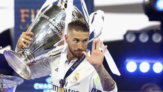 Sergio Ramos End Up