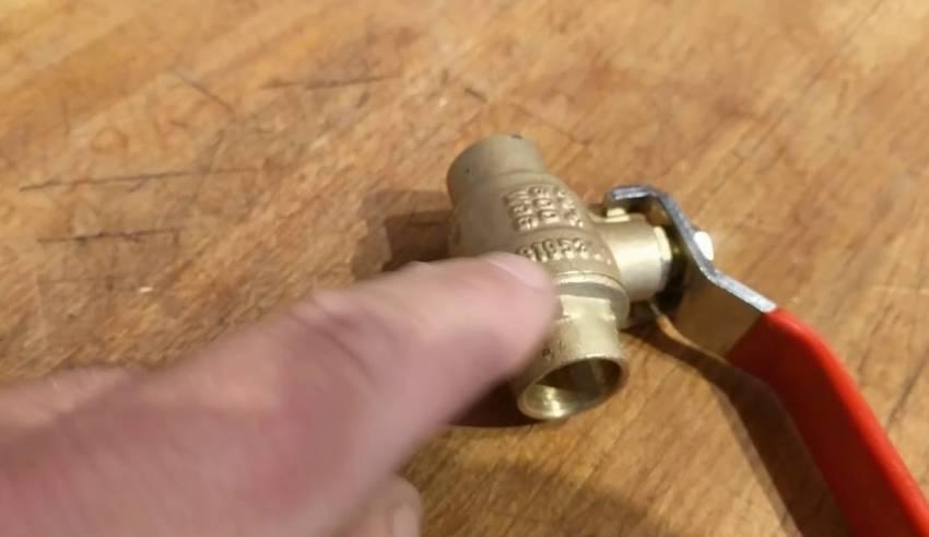 Ball valve leaking