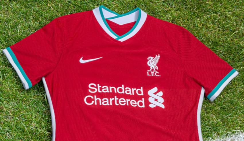 Authentic Vintage Liverpool Football Kits