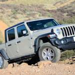 Jeep Gladiator on the Trail
