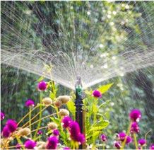 sprinkler and irrigation system