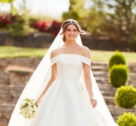 Off Shoulder Wedding Dresses Brisbane