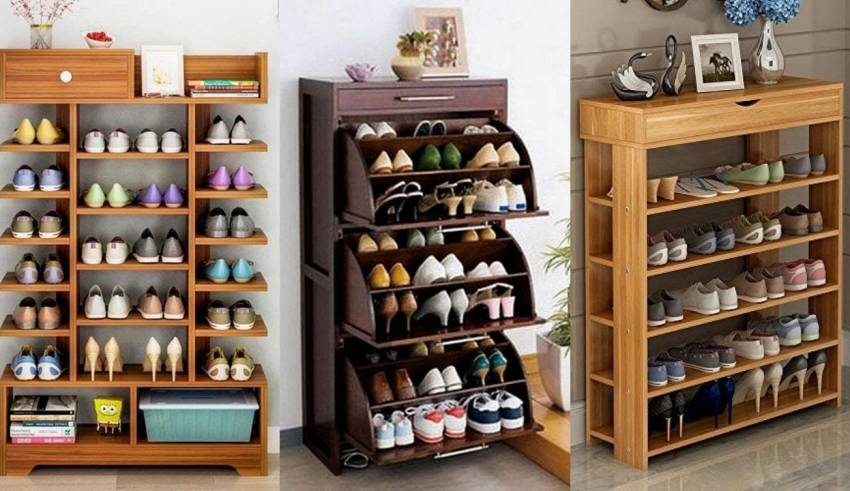 best wooden shoe racks in India
