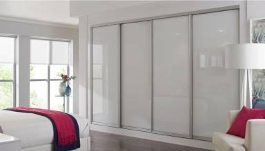 sliding glass closet door