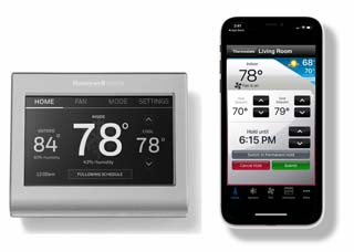 How to login into Honeywell thermostat via browser