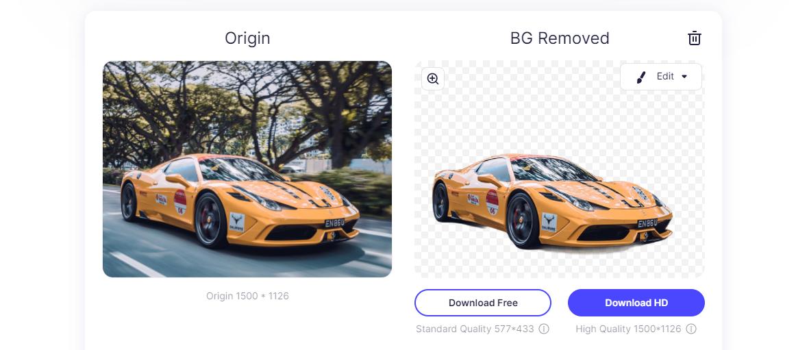 pixcut image background remover